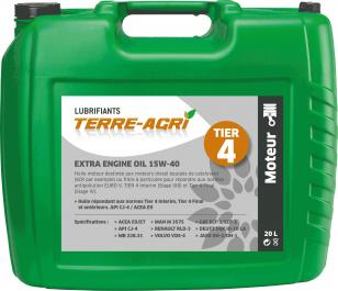 EXTRA ENGINE OIL 15W-40