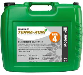 E6/E9 ENGINE OIL 10W-40
